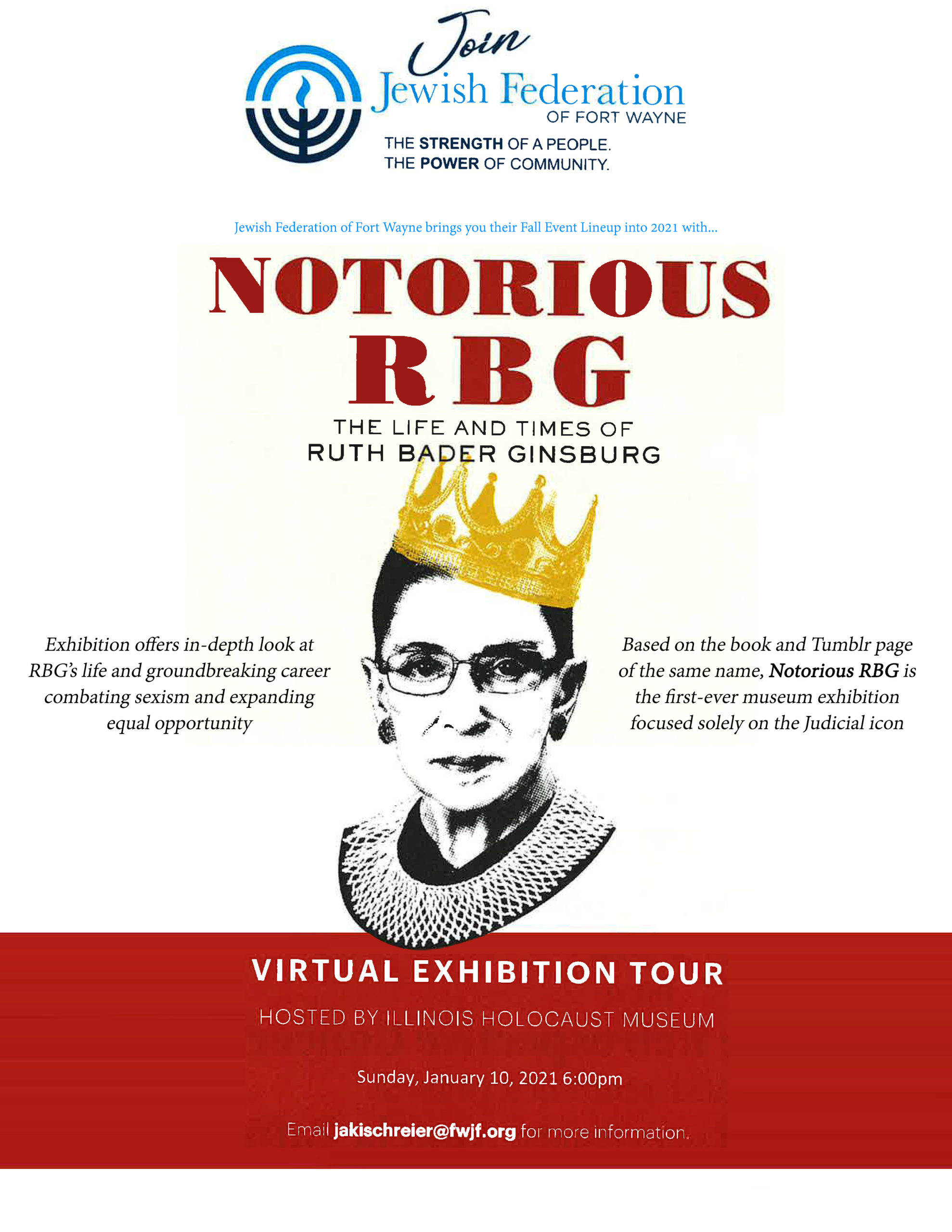 RBG virtual event